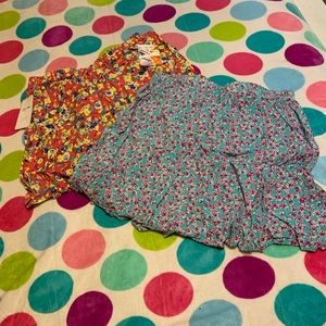 New floral skirts